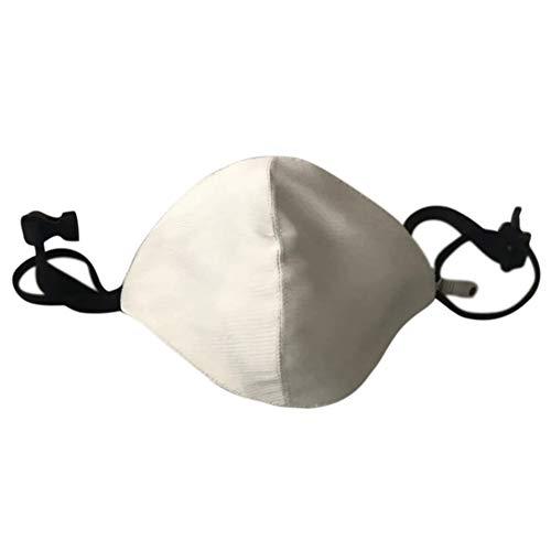 Glomixs LED Flashing Mask, Luminous Light for Men Women Rave Mask Music Party Christmas Halloween Light Up Mask, LED Flashing Mask Chargeable Colorful Dust Mask Fiber Optic Fabric Mask