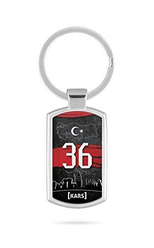 Schlüsselanhänger Türkei Kars 36 Türkiye Plaka V2 - Kars Türkei