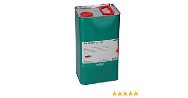 Motorex Air Filter Oil 206 Luftfilteröl 5 Liter Kanister Auto