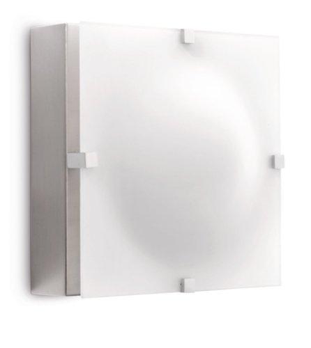 Philips Eclairage Mural Led Ledino Elysium 7.5W Argent Extérieur