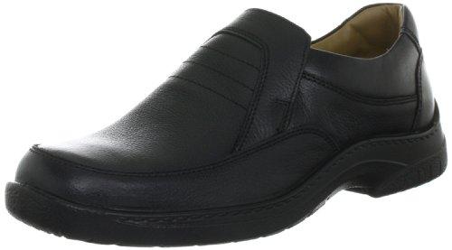 Jomos Feetback 4 406201 44 - Zapatos casual de cuero para hombre, color negro, talla 49