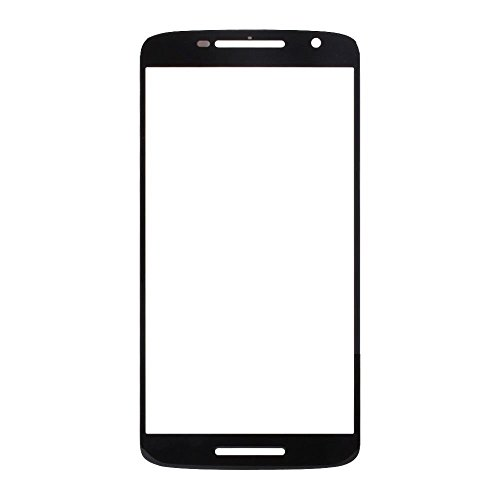 Front Replacement LCD touch screen glass lens for Moto X Play Black