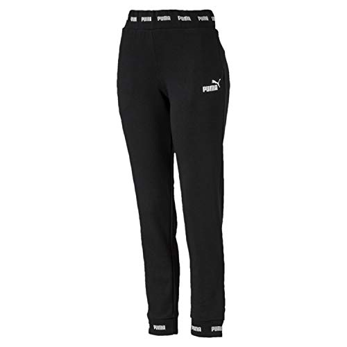 Puma Damen Amplified Sweat Pants TR CL Jogginghose Cotton Black, S