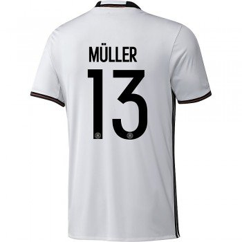 adidas Kinder Trikot DFB Home Jersey Youth Müller (Weiss, 140) -