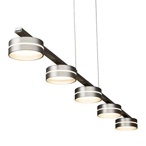 Brilliant G66873/13 Lampe suspendue Métal, 36 W, Fer