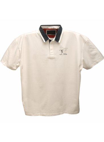 Raging BullHerren Langarmshirt, Einfarbig Weiß - Weiß