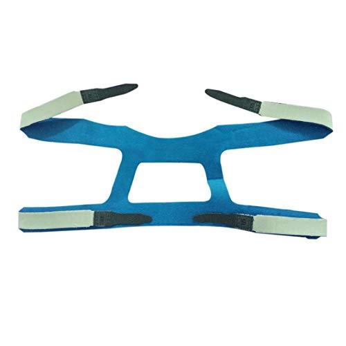 Comfort Gel Full-face-maske (Universal Design Headgear Comfort Gel Vollmaske Sicherer Umweltschutzersatz CPAP Kopfband Ohne Maske Für PHILPS Kaemma)