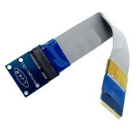 chenyang Flexible Mini PCI Express PCI-E tarjeta Mini Extensor 52pin macho a hembra FFC cable