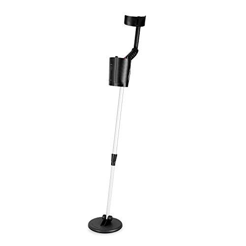 Duramaxx Detector de Metales Resistente al Agua 16,5 cm (diseño ultracompacto y desmontable, peso ligero, 1.5 m profundidad de búsqueda, discriminación ajustable, salida auriculares)