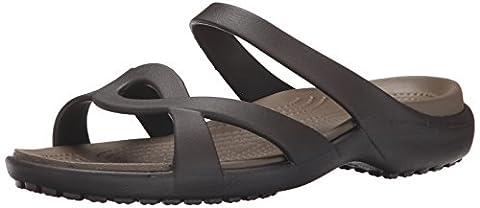 Crocs Women's Meleen Twist Sandals, Brown (Espresso/Walnut 23B), 5 UK