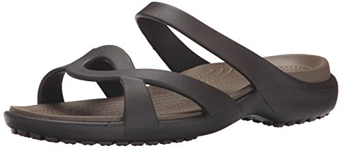 Crocs Women's Meleen Twist Sandals, Brown (Espresso/Walnut), 8 UK