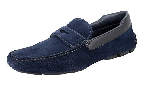 Prada 2DD116, Herren Mokkasins, Oltremare - Größe: 43 EU - Männer Kleid Prada Schuhe