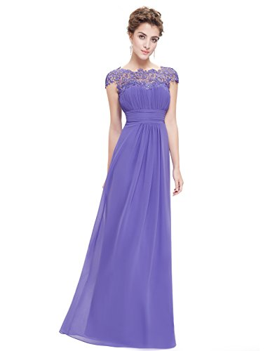 Ever-Pretty - Robe - Taille empire - Femme Iris