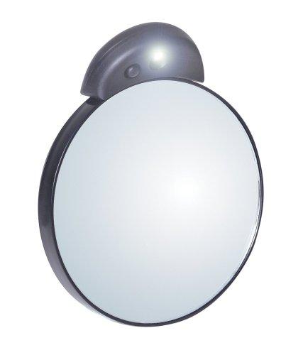 Tweezerman - 6762-R - Miroir Grossissant (x10) avec Lumière Intégrée