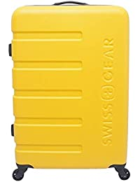 Swiss Gear ABS 69 cms Yellow Hardsided Check-in Luggage (7366743177)