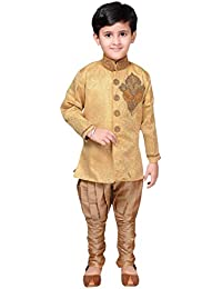 Desi Sarees Boys Indo Western Hochzeit Sherwani Pyjama EB 949