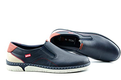NOTTON 208 Zapato Hombre - Hombre Color: Marino Talla: