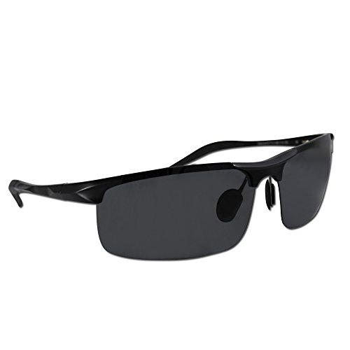 Wayfarer Sonnenbrille Polarisiert Herren – ToughLove Unbreakable Serie – Hochwertige polarisierte Gläser mit UV Schutz – Jeder Kauf bei Eye Love löst eine wohltätige Spende aus