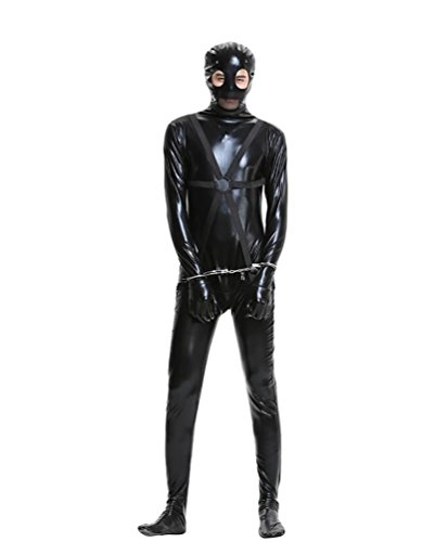 YOUJIA-Homme-Harness-Body-Combinaison-Catsuit-Leotard-Halloween-Tenue-Cosplay-Dguisement-Yeux-Ouverts