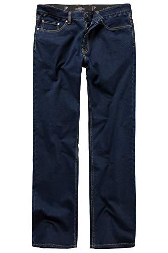 JP 1880 Herren große Größen bis 66, Jeans, Denim-Hose im 5-Pocket-Style, Stretch-Komfort, elastischer Bund & Regular Fit darkblue 56 708067 93-56 (Pocket-größe)