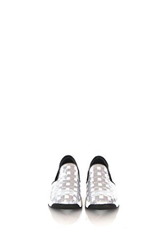 Sneakers Donna Pinko 39 Argento Sequins Primavera Estate 2016