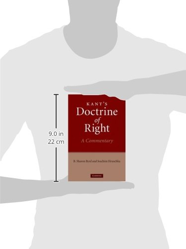 Kant's Doctrine of Right: A Commentary