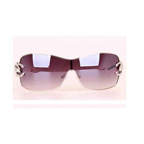 LXRSYD Diamant Frauen Sonnenbrille Frauen Markendesigner Mit Logo Gold Rahmen Goggle Sonnenbrille Für Frauen-2