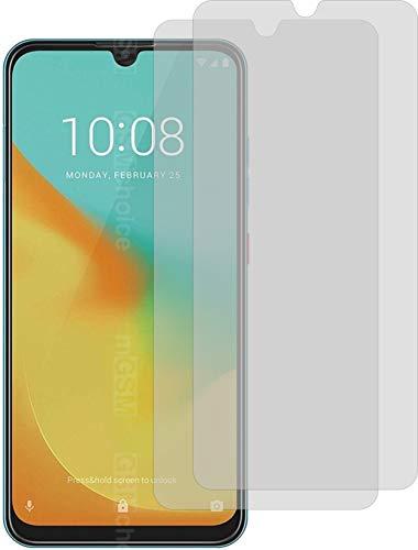 2X Crystal Clear klar Schutzfolie für ZTE Blade V10 Vita Bildschirmschutzfolie Displayschutzfolie Schutzhülle Bildschirmschutz Bildschirmfolie Folie