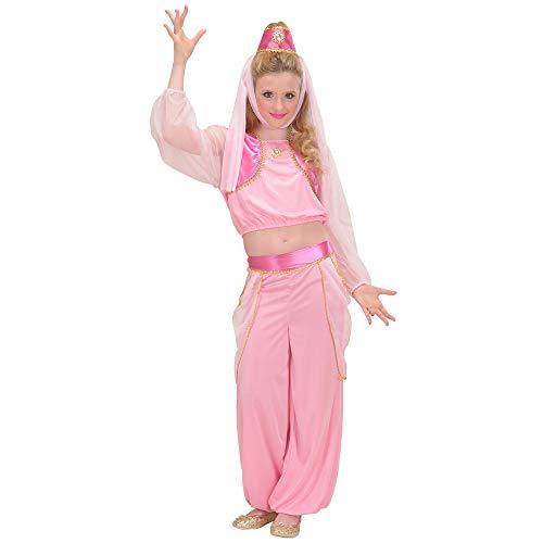 WIDMANN WDM58636 - Costume Per Adulti Genio della Lampada (128 cm/5-7 Anni), Rosa, XXS