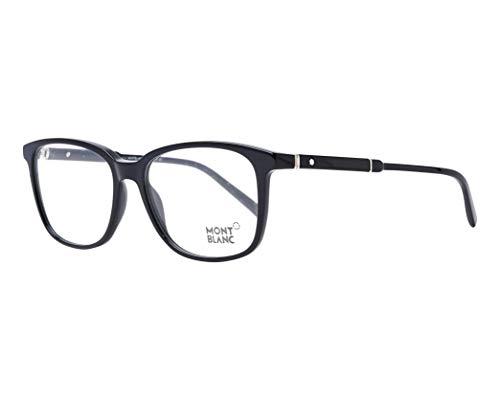 Montblanc MONT BLANC Herren Brillengestelle Frame MB0620 001-55-16-145, Black, 55