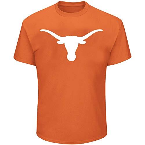 Profile Varsity University of Texas Herren Big & Tall Longhorns Logo T-Shirt, Herren, Orange, 6XL University Of Texas-jersey