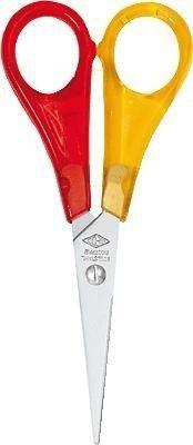 Wedo 77721 Bastelschere für Linkshänder, spitz, 13.5 cm -