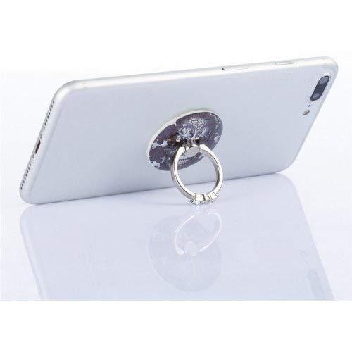 RanDal Telefon Fingerring Halter Schreibtisch Tablet Ständer 360 Grad Aufkleber Auf Geräten Classic Golden