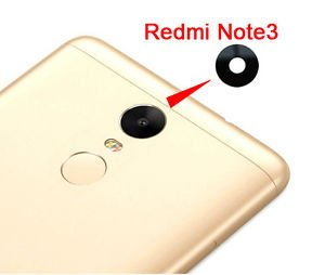 Shockware Rear Camera Lens Glass With Adhesive Sticker Replacement Part Compatible With Xiaomi Redmi Note 3