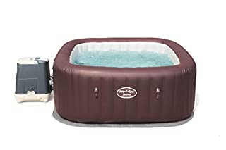 Lay-Z-Spa Maldives Luxury Hot Tub, HydroJet Pro Massage System Inflatable Spa with LED Lights and Foot Massager, 5-7 Person (B07F2TKKX6) | Amazon Products