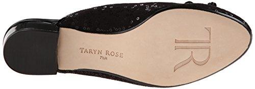 Taryn Rose Faigel Femmes Toile Mules Black