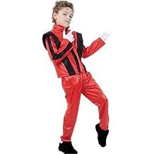 michael jackson abito fantasia età del bambino costume 10 - 12