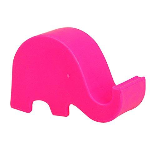 lafyHo Mini Tabla Elefante turística Titular de Montaje para el Soporte del teléfono móvil de la célula del teléfono tabletas