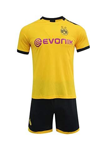 19-20(Home & Away) Club Jersey Kits-T-Shirt & Shorts UEFA Fußballtrikots für Männer Kinder Erwachsene Jugend Custom personalisierte entsprechen Saison Fußball Jersey-Kits, alle Namen und Nummern (Benutzerdefinierte Kostüm Zeichen)