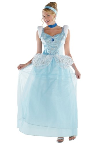 Disney's Cinderella Adult Deluxe Costume Dress Small (4-6)