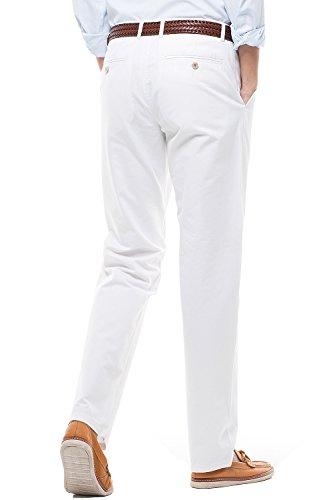 Pantalones casual de hombre  corte recto  estilo liso  pantalones de hombre con perneras rectas  16 colores para elegir
