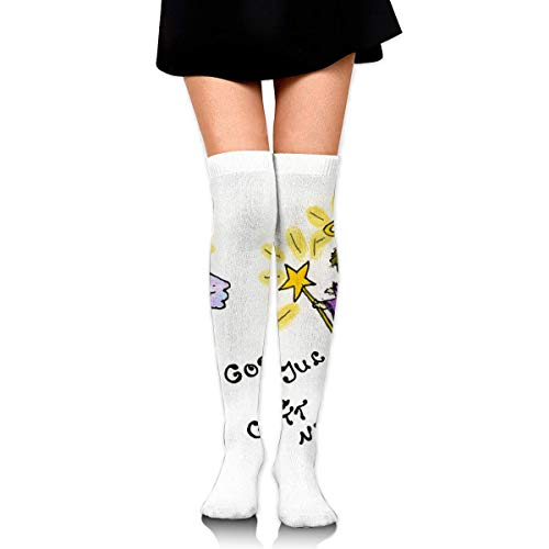 stmas Blessing from The Healing Angel God Jul Ankle Stockings Over The Knee Sexy Womens Sports Athletic Soccer Socks ()
