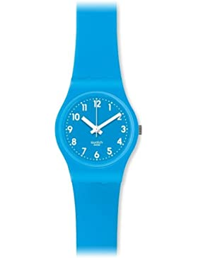 Swatch Damen-Armbanduhr XS Lady Collection Analog Silikon LS112