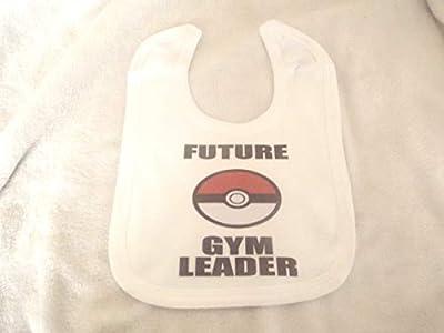 Future Gym Leader Pokemon - Baberos unisex de saliva para bebé, algodón absorbente, baberos para recién nacido, bebés de 3 a 36 meses, Navidad, Día de la Madre, Navidad de LBS4ALL