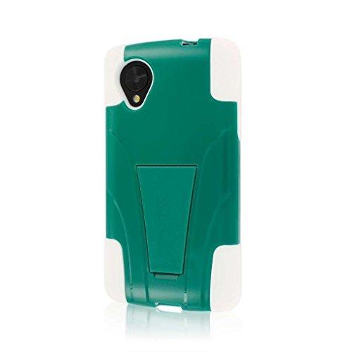 MPERO IMPACT X Series Kickstand Case Tasche Hülle for Google Nexus 5 D820 D821 - Teal Grün