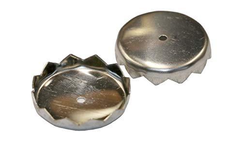 D.O.M. Die Olivenholz Manufaktur Set 2 Stück Ersatz Plättchen Kapseln für Magnetseifenhalter Seife