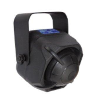 Alarmsirene schwarz 105dB, 9-15V, Sirene für Alarm (Sirene Net)
