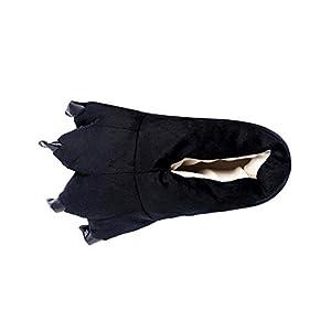 Fossen Kids Zapatillas de Estar por Casa Unisex Niños Mujer Hombre Lindo Garra Caliente - Zapatos de Algodón Suave Pantuflas Invierno Peluche Familia Zapatilla 13