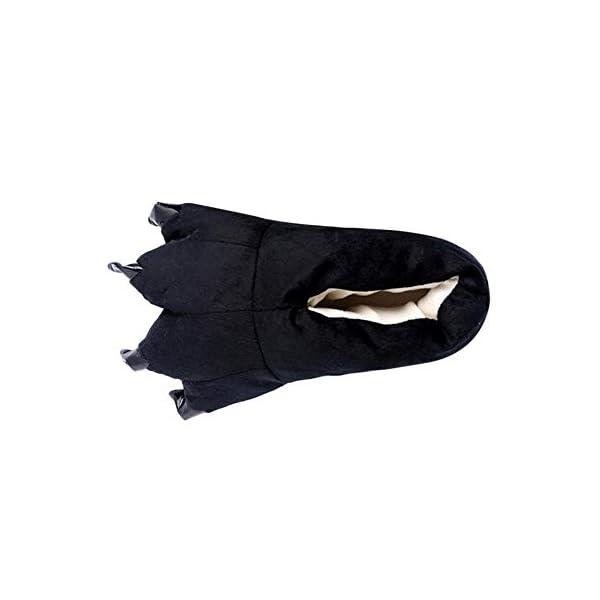 Fossen Kids Zapatillas de Estar por Casa Unisex Niños Mujer Hombre Lindo Garra Caliente - Zapatos de Algodón Suave… 1