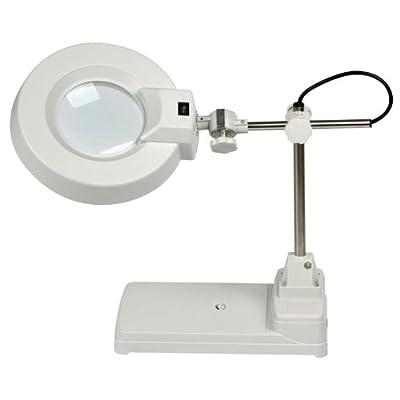 HUX WIND® Tisch Lupenleuchte 5 Dioptrien 22W Arbeitsleuchte Lupenlampe LT86B5 von HUX WIND® auf Lampenhans.de